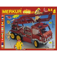 Merkur Erector Set Tűz makett figura