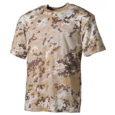 MFH álcázó trikó vegetato desert minta, 170g/m2