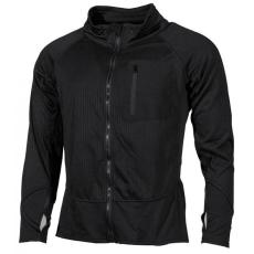 MFH U.S. taktikai alsónemű trikó, hosszú ujjú, fekete