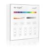 Mi-Light Vezeték nélküli , fali , érintős, vezérlő, RGB + hideg-meleg fehér (CCT) 2,4 GHz