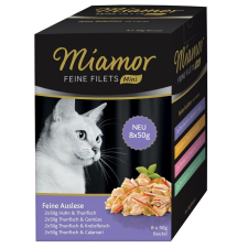 Miamor finom filék mini tasakos multibox 8 x 50 g - Feine Selection macskaeledel