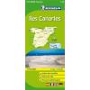 MICHELIN Kanári-szigetek térkép - Michelin 125