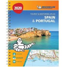 MICHELIN Spanyolország autóatlasz és Portugália atlasz Michelin 1:400 000 Spanyolország atlasz 2020 grafika, keretezett kép