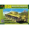 "Micro Scale Desing Т-34 Russian medium tank, ""Krasnoye Sormovo"" Plant No.112, model 1942 tank makett MSD3528"