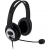 Microsoft LifeChat LX-3000 stereo headset fekete