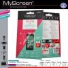 Microsoft Lumia 435 / 532, Kijelzővédő fólia, MyScreen Protector, Clear Prémium / Matt, ujjlenyomatmentes, 2 db / csomag