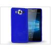 Microsoft Lumia 950 szilikon hátlap - Jelly Flash - kék