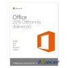 Microsoft Office 2016 Otthoni és diákverzió Elektronikus licenc szoftver