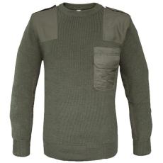 Mil-Tec katonai pulóver BW, oliv