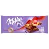 Milka LU alpesi tejcsokoládé ropogós keksszel 87 g