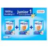 Milumil Junior 1 vanília ízű gyerekital 12 hó+ 1800 g