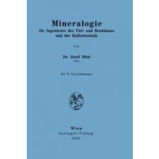 Mineralogie – Josef Stini idegen nyelvű könyv
