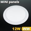 Mini kör LED panel (170 mm) 12 Watt meleg fehér