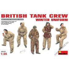 MiniArt - British Tank Crew (Winter Uniform) játékfigura