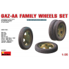 MiniArt GAZ-AA Family Wheels set makett MiniArt 35099