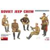 MiniArt SOVIET JEEP CREW figura makett Miniart 35049