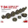 MiniArt - T-34 Wheels Set 1942 Series