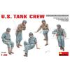 MiniArt U.S. TANK CREW figura makett Miniart 35126