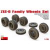 MiniArt ZIS-6 Family Wheels Set katonai jármű makett Miniart 35201