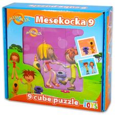 Minimax: kis mesekocka 9 darabos puzzle, kirakós