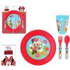Minnie Disney Minnie étkészlet, műanyag szett