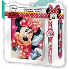 Minnie Disney Minnie Napló + 6 színű toll + karóra karóra