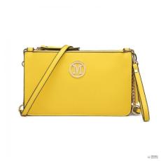 Miss Lulu London LG6804-MISS LULUbőr TASSEL ORnévNT kézi táska válltáska táska sárga