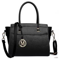 Miss Lulu London LT1625 - Miss Lulu klasszikus válltáska táska fekete