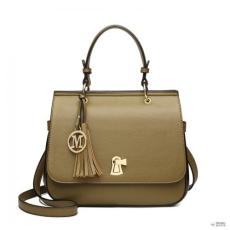 Miss Lulu London LZ1832-MISS LULUbőr TASSEL táska táska zöld
