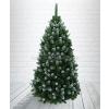 Můj stromeček Havas hatású Gold fekete műfenyőfafa - 220 cm műkarácsonyfa