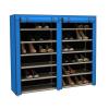 Mobil cipőtároló szekrény, kék