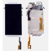 Mobilpro HTC M8 LCD + keret fehér