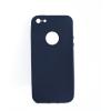 Mobilpro Szilikon tok iPhone 5 kompatibilis védőtok sötétkék szín