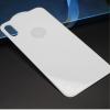 Mocolo edzett üveg hátlap Apple iPhone X - 0.3mm - ezüst