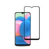 Mocolo Samsung Galaxy A31 kijelzővédő edzett üvegfólia (0.33mm, 9H, 3D, fekete), prémium minőség