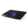 """Modecom Notebook Hűtőpad 14""""-ig - CF13 (beépített hűtőventilátor; rácsos felület; fekete)"""