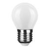 Modee E27 LED izzó Loft filament (4W/360°) Kisgömb - természetes fehér