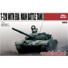 Modelcollect T-72B with ERA main battle tank makett UA72007 rc autó