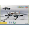 MODELSVIT Yak-1 Soviet fighter on skis repülőgép makett MSVIT4802