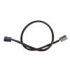 ModMyToys Adapter 3Pin aljzat - 3Pin aljzat 30cm - Fekete