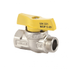 Mofém Flexum 1/2˝ Fix KB gáz gömbcsap (golyós csap)