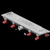 Mofém MOFÉM Linear MLP-650 KF Zuhanyfolyóka minta nélküli ráccsal