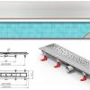 Mofém MOFÉM Linear MLP-750 KF Zuhanyfolyóka minta nélküli ráccsal