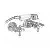 Mofém Treff zuhany csaptelep 143-0006-00