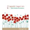 Mojzer Győző (szerk.); Bálint András (ea.) - 25 LEGSZEBB MAGYAR VERS - HANGOSKÖNYV -