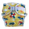 Monapel ÖKO MonaWrap egyméretes pelenka külső - Járműves - One Size