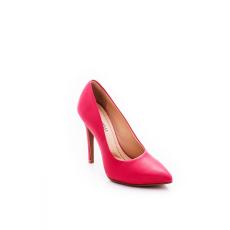 Montonelli Prémium Valódi Bőr női rózsaszín magassarkú cipő 36 /kac
