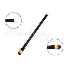 Moonbasanails Smink ecset kétfejű - szemhéjfesték ecset és applikátor smink kiegészítő