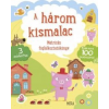 Móra Kiadó A három kismalac - Matricás foglalkoztatókönyv