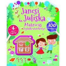 Móra Kiadó Jancsi és Juliska matricás foglalkoztatókönyv gyermek- és ifjúsági könyv